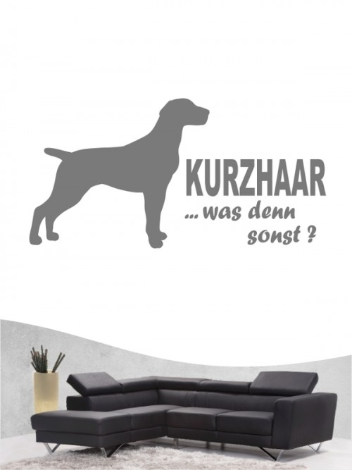 Deutsch Kurzhaar 7 - Wandtattoo