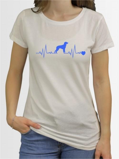 """""""Deutsch Langhaar 41"""" Damen T-Shirt"""