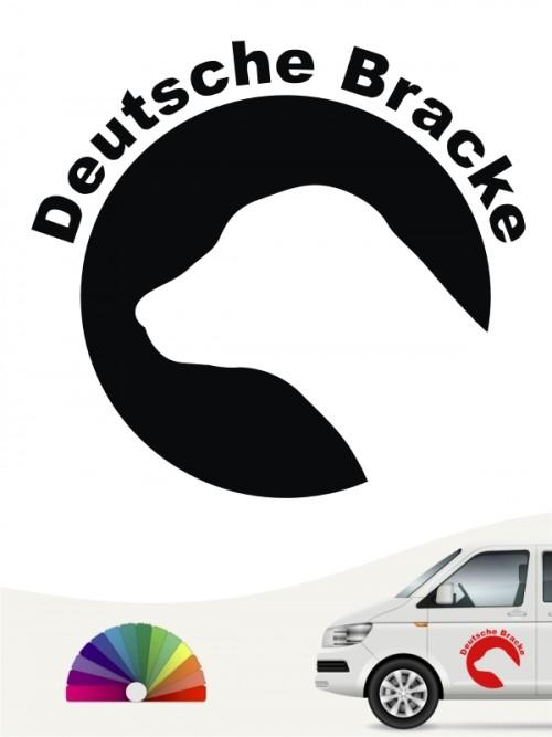 Deutsche Bracke Aufkleber von anfalas.de