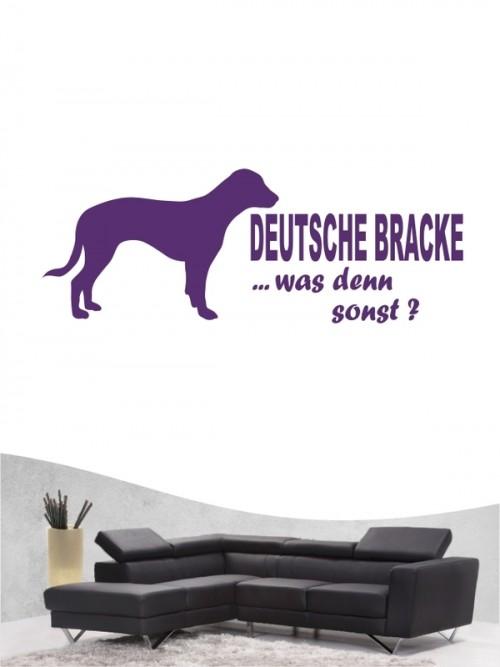 Deutsche Bracke 7 - Wandtattoo