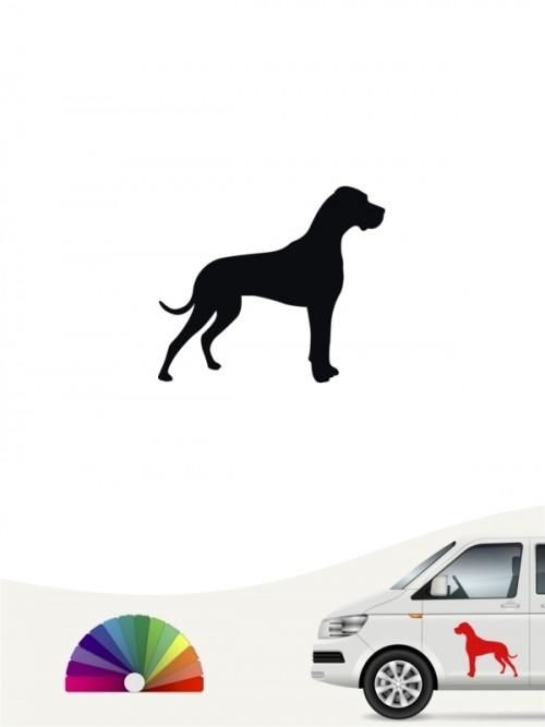 Deutsche Dogge Autosticker versch. Farben anfalas.de