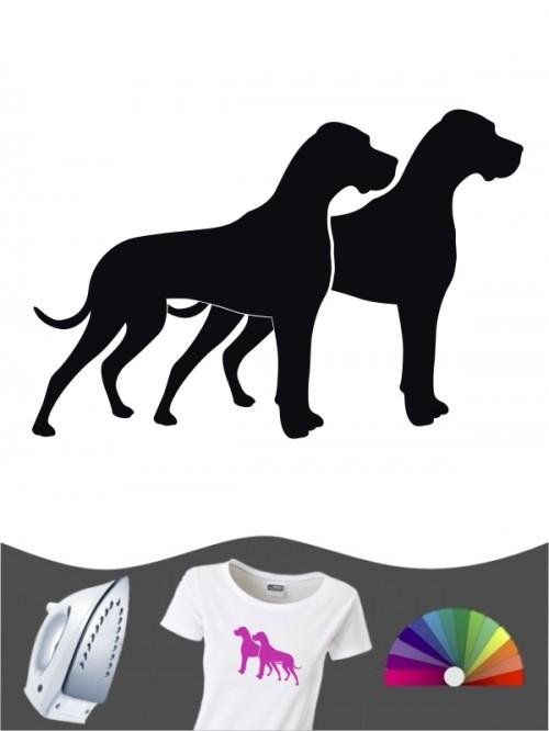 Deutsche Dogge 2 Bügelbild