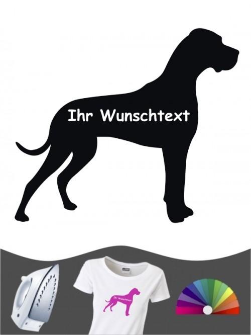 Deutsche Dogge 3 Bügelbild