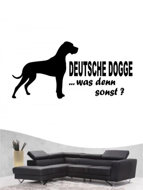 Deutsche Dogge 7 Wandtattoo