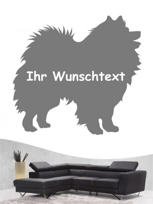 Deutsche Spitz 3 - Wandtattoo