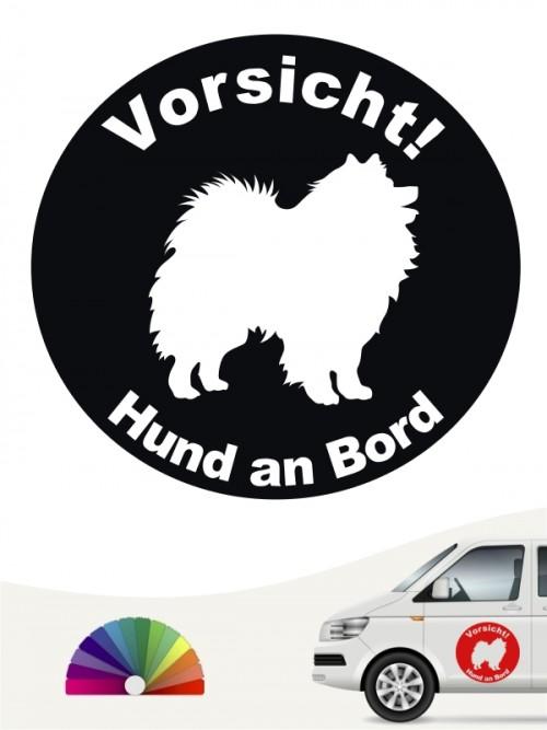 Deutsche Spitz  Aufkleber von anfalas.de