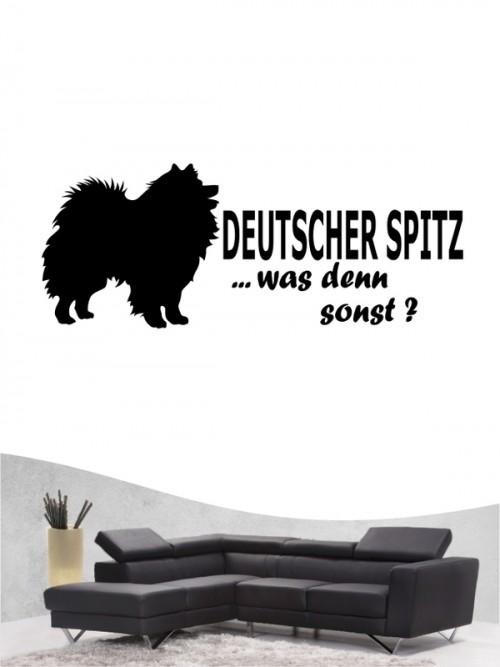 Deutsche Spitz 7 - Wandtattoo