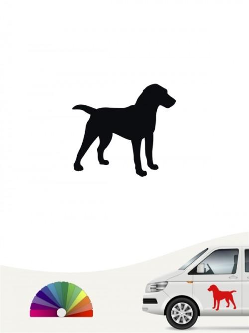 Hunde-Autoaufkleber Deutscher Jagdterrier 1 Mini von Anfalas.de