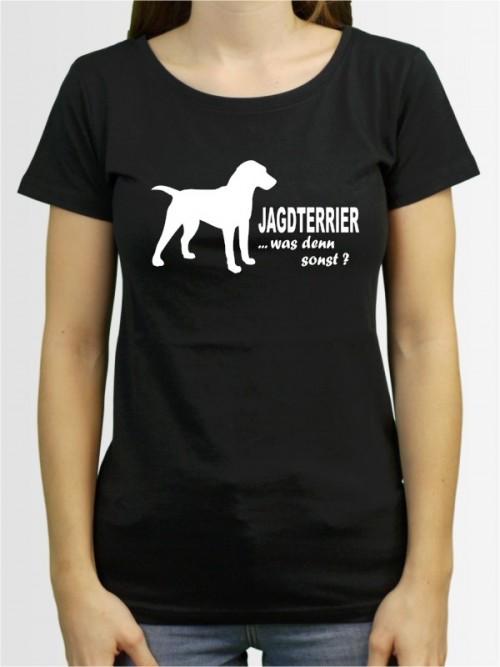 """""""Deutscher Jagdterrier 7"""" Damen T-Shirt"""