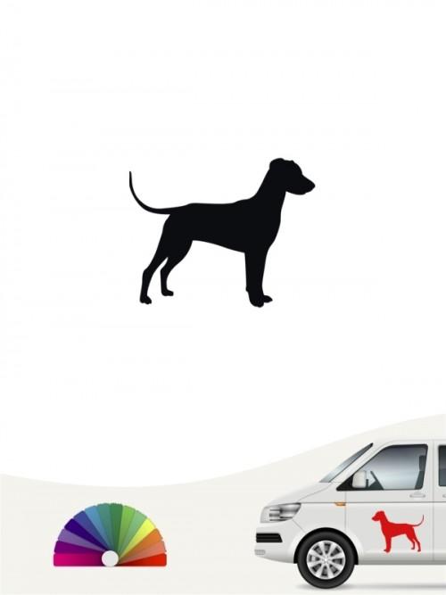 Hunde-Autoaufkleber Deutscher Pinscher 1 Mini von Anfalas.de