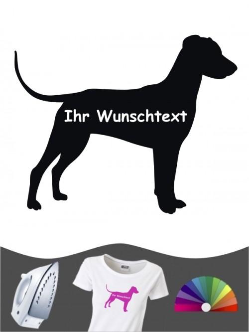 Deutscher Pinscher 3 - Bügelbild