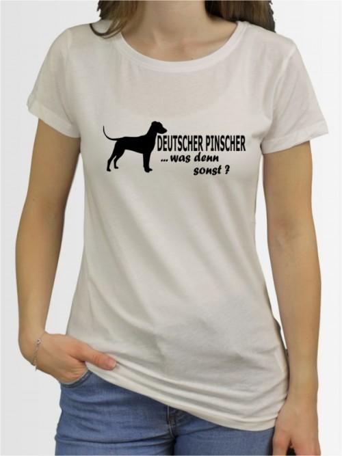 """""""Deutscher Pinscher 7"""" Damen T-Shirt"""