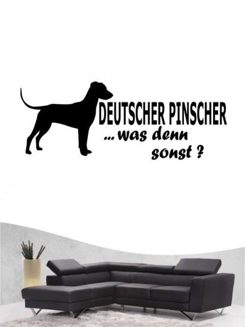 Deutscher Pinscher 7 - Wandtattoo