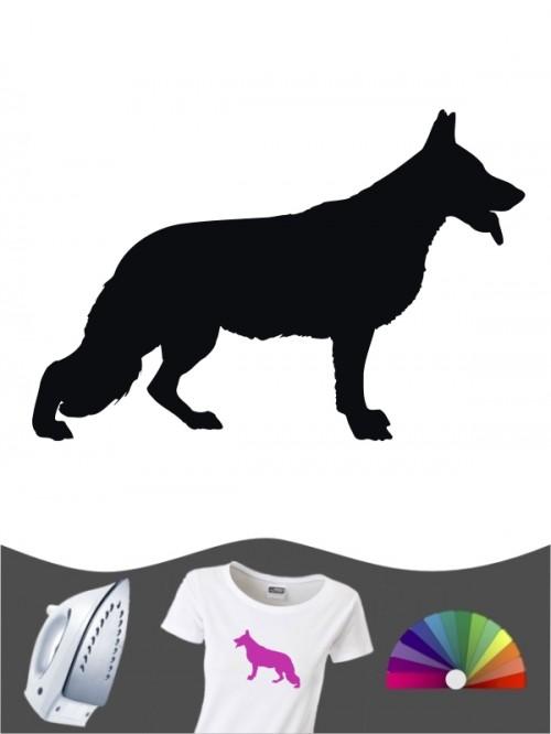 Deutscher Schäferhund 1 - Bügelbild