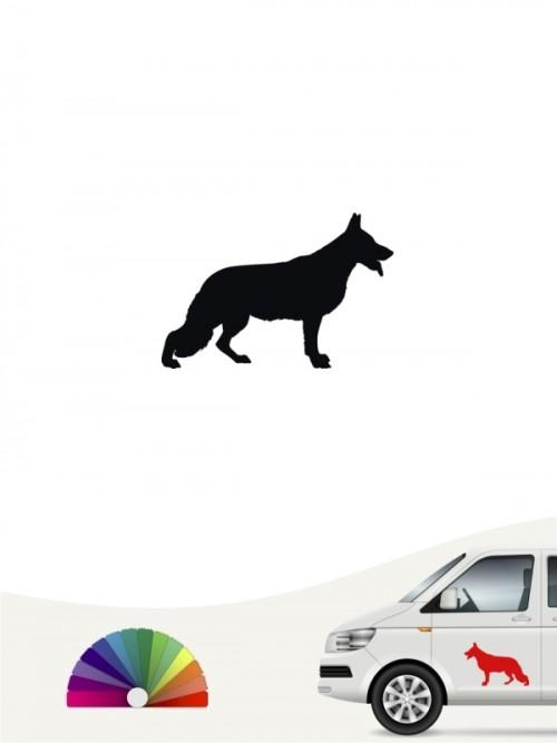 Hunde-Autoaufkleber Deutscher Schäferhund 1 Mini von Anfalas.de