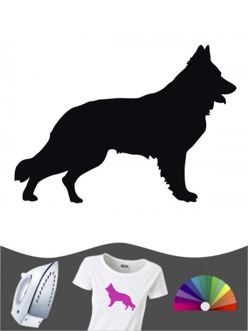 Deutscher Schäferhund 1a - Bügelbild