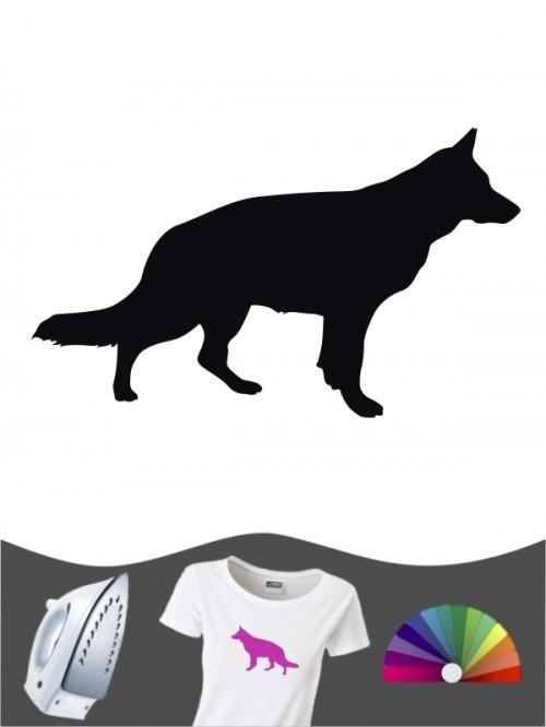 Deutscher Schäferhund 1b - Bügelbild