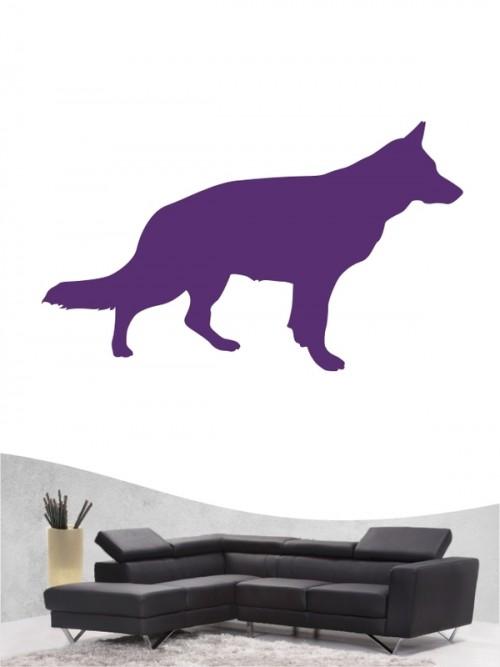 Deutscher Schäferhund 1b - Wandtattoo