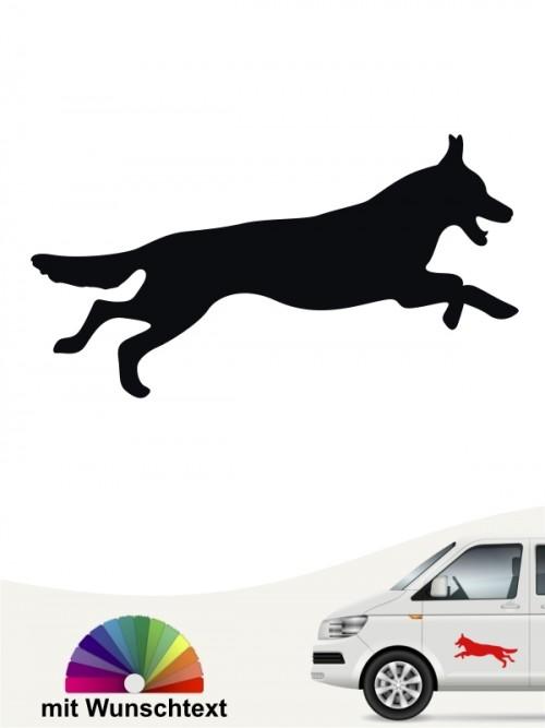 Dt. Schäferhund Autoaufkleber von anfalas.de