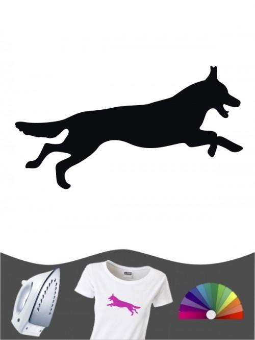 Deutscher Schäferhund 1d - Bügelbild
