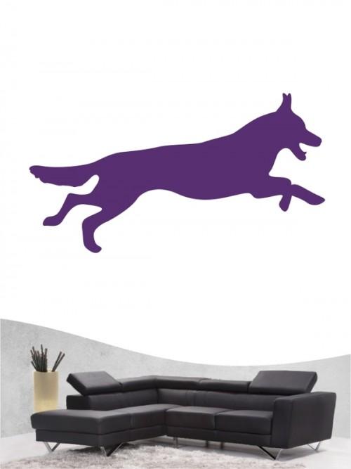 Deutscher Schäferhund 1d - Wandtattoo