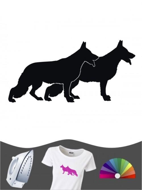 Deutscher Schäferhund 2 - Bügelbild