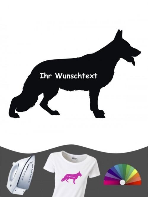 Deutscher Schäferhund 3 - Bügelbild