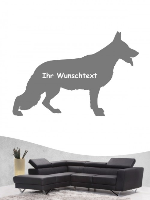 Deutscher Schäferhund 3 - Wandtattoo