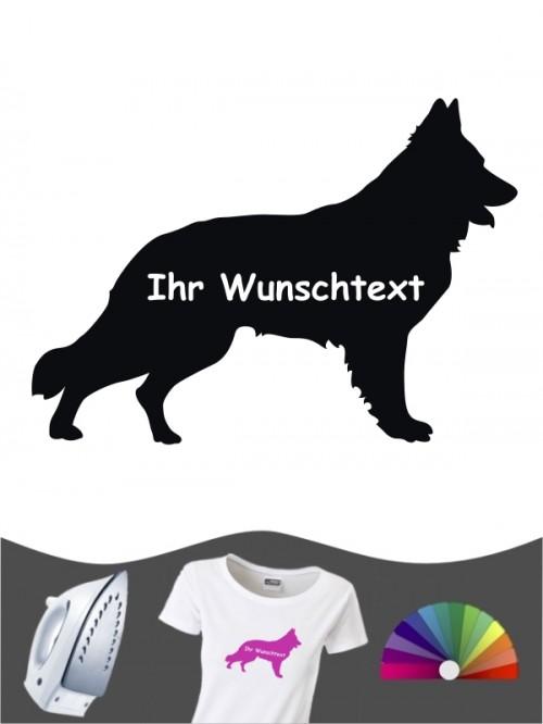 Deutscher Schäferhund 3a - Bügelbild