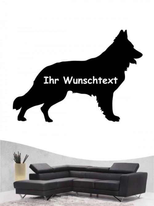 Deutscher Schäferhund 3a - Wandtattoo