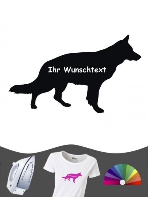 Deutscher Schäferhund 3b - Bügelbild