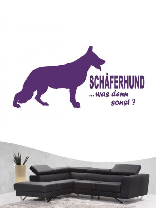 Deutscher Schäferhund 7 - Wandtattoo