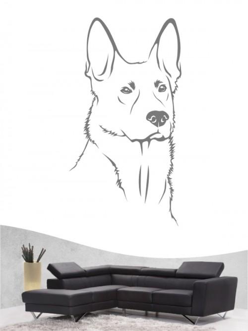 Deutscher Schäferhund - Wandtattoo
