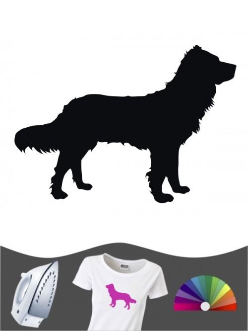 Deutscher Wachtelhund 1 Bügelbild