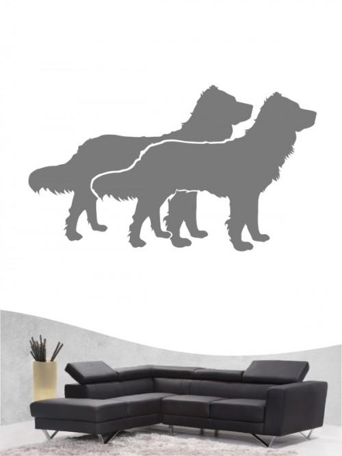 Deutscher Wachtelhund 2 Wandtattoo