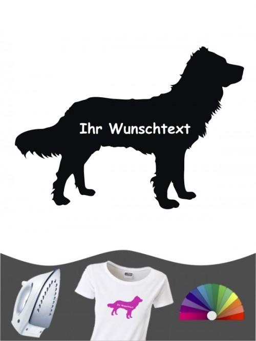 Deutscher Wachtelhund 3 Bügelbild