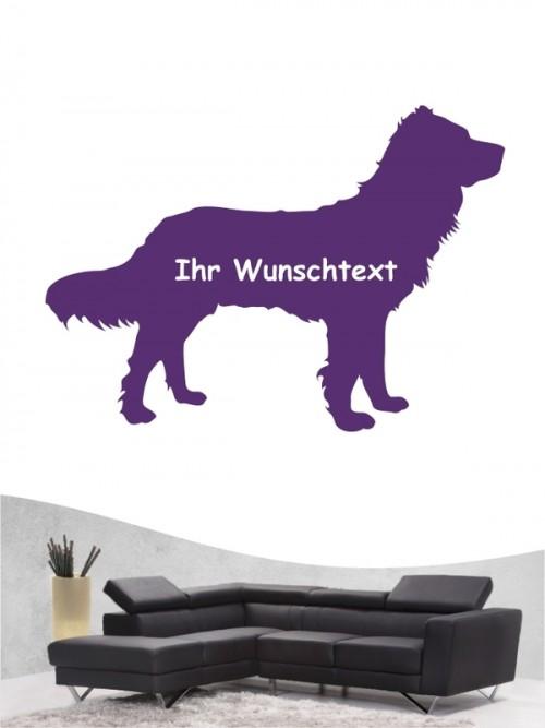 Deutscher Wachtelhund 3 Wandtattoo