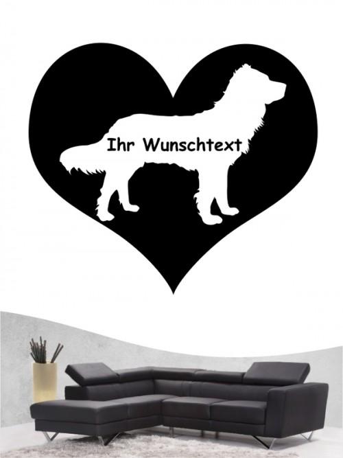 Deutscher Wachtelhund 4 Wandtattoo
