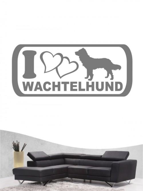 Deutscher Wachtelhund 6 Wandtattoo