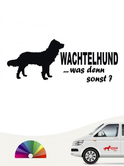 Was denn sonst Aufkleber Deutscher Wachtelhund anfalas.de