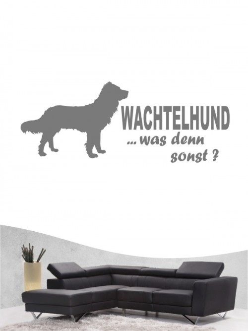 Deutscher Wachtelhund 7 Wandtattoo