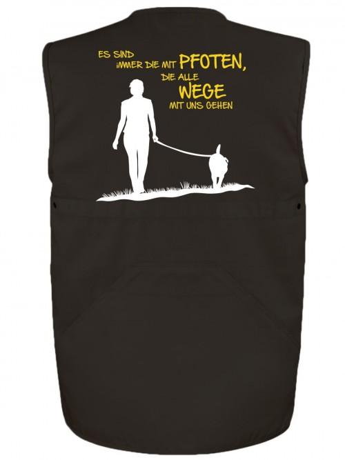Hundesport Weste Die mit Pfoten
