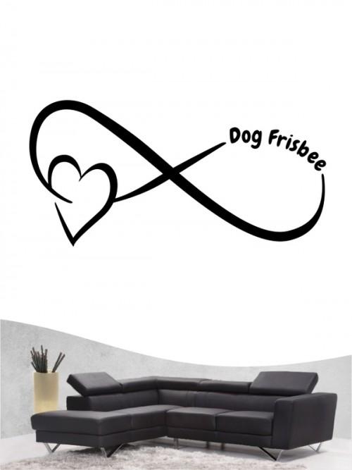 Hunde-Wandtattoo Dog Frisbee 40 von Anfalas.de