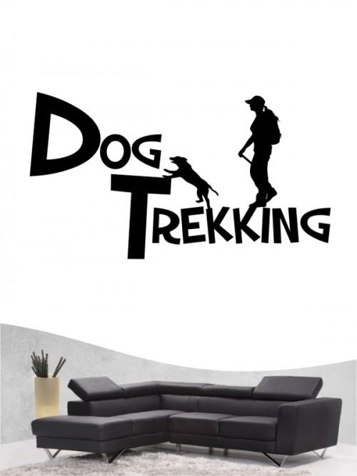 Hunde-Wandtattoo Dogtrakking 20a von Anfalas.de