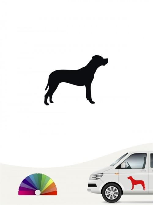 Dogo Argentino Autoaufkleber versch. Farben anfalas.de