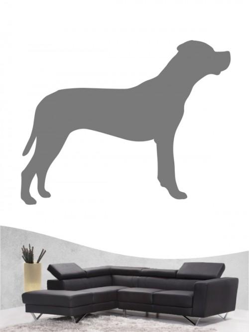 Dogo Argentino 1 Wandtattoo
