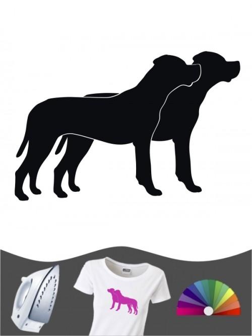 Dogo Argentino 2 - Bügelbild