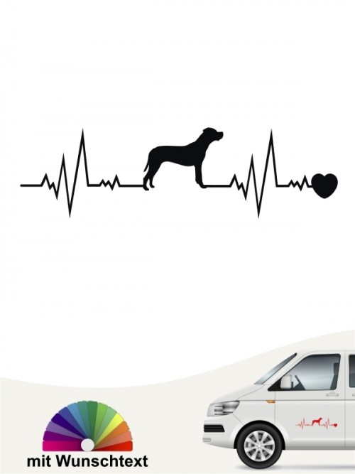 Dogo Argentino Hundeaufkleber von anfalas.de