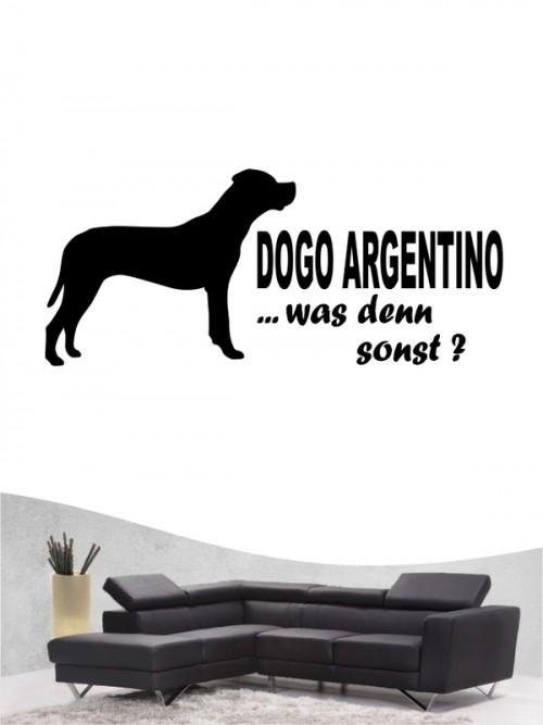 Dogo Argentino 7 Wandtattoo