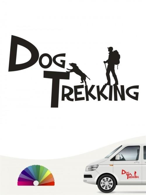 Hunde-Autoaufkleber Dogtrekking 20 von Anfalas.de